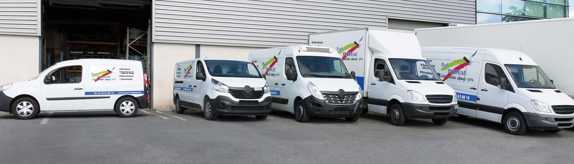 Flotte de véhicules - Paul Turpeau