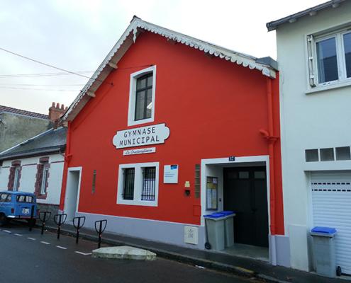 Ravalement Gymnase La Chantenaysienne Nantes (44) - Paul Turpeau