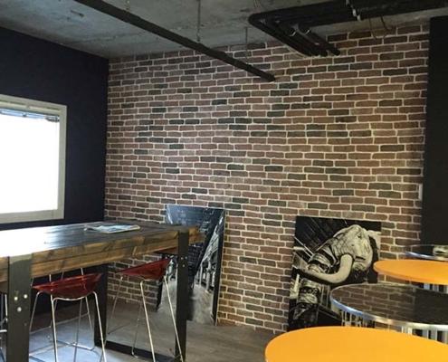 Projet Bouygues Nantes (44) - Décoration intérieure, peinture intérieure, revêtement de sol et murs - Paul Turpeau