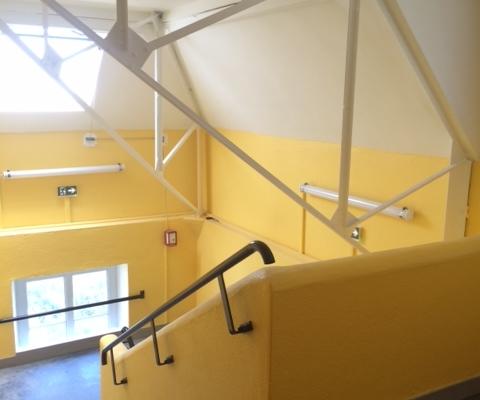 Projet Lycée La Joliverie (44) - Peinture intérieure, revêtement de sol - Paul Turpeau